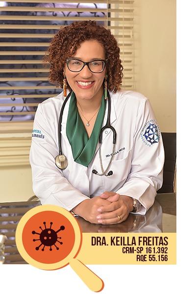 Dr Keilla Freitas - Infectologista em São Paulo