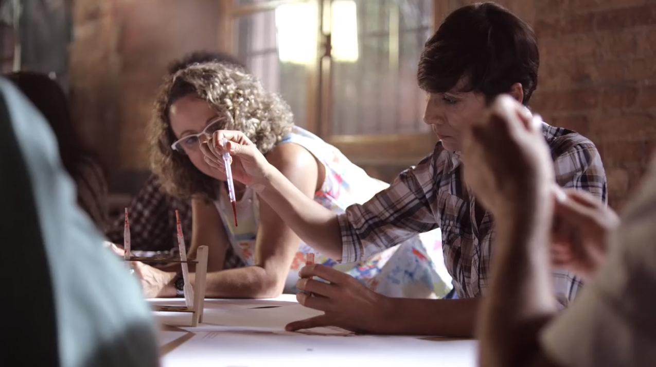 O Cartaz HIV Positivo: depoimento Teresinha Martins