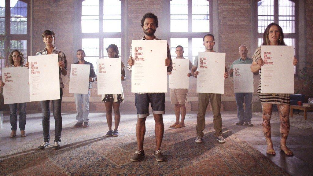O Cartaz HIV Positivo : depoimento Silvia Almeida