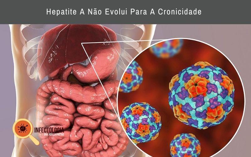 Hepatite A Não Evolui Para A Cronicidade
