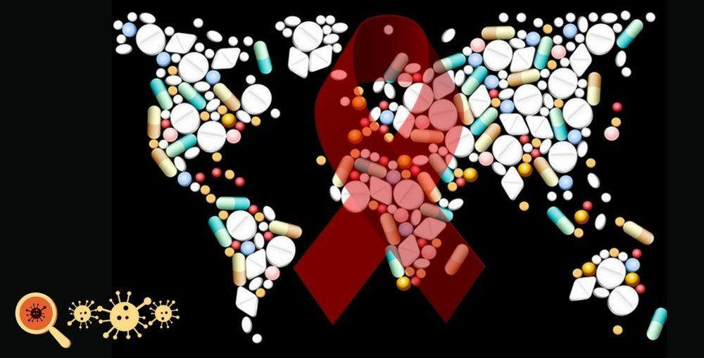 Infectologista - Distribuição dos remédios para HIV no mundo