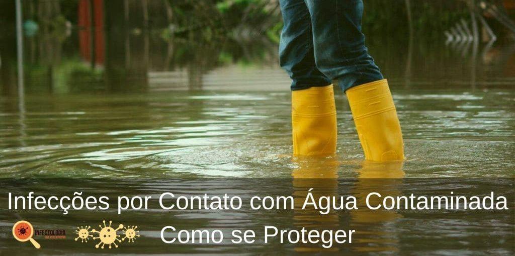 Infecções por Contato com Água Contaminada - Como se Proteger