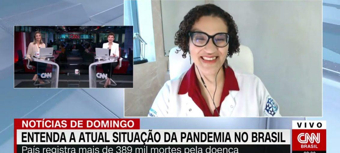 Atual Situação do Coronavírus em São Paulo e no Brasil - Entrevista CNN